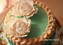 May You Cookt It | Mocha Chiffon with Buttercream icing